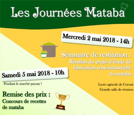 2 et 5 mai, Lycée agricole Coconi – Les Journées Mataba