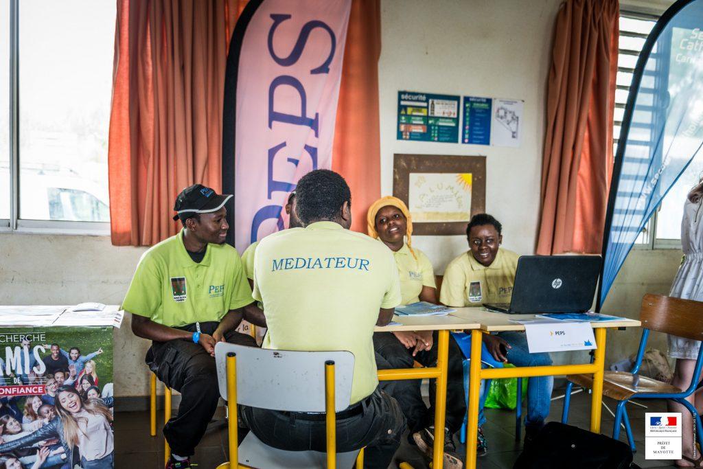 Salariés d'une entreprise de l'ESS à Mayotte