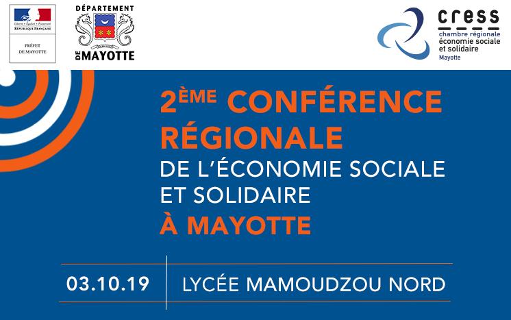 3 octobre – 2ème Conférence Régionale de l'ESS