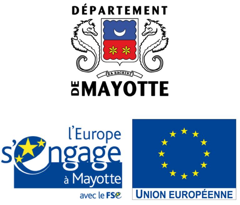Logos Conseil départemental et Europe