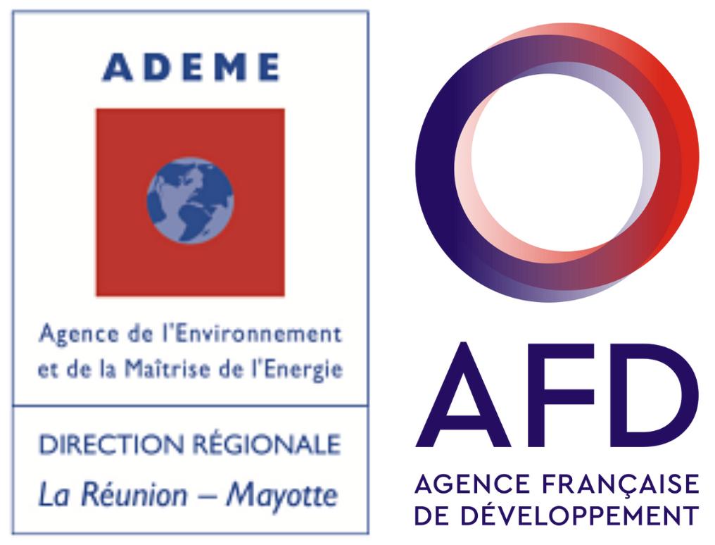 Logos de l'ADEME et de l'AFD